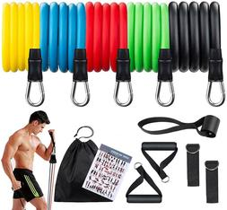 JAPJA Resistance Bands Home Gym for Men and Women; 12-Piece