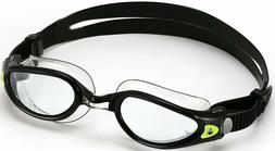 AQUA SPHERE KAIMAN EXO SMALL FIT SWIMMING GOGGLE CLEAR LENS