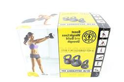 Gold's Gym Kettlebell Kit