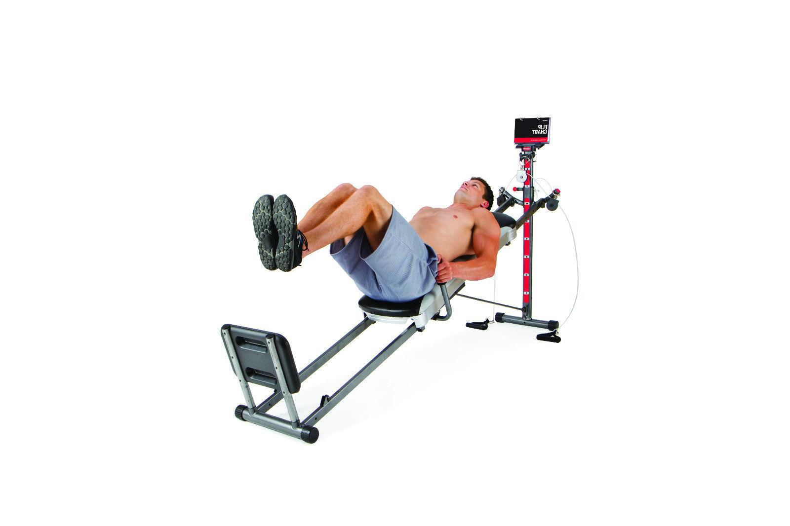 Total Gym Deluxe Equipment