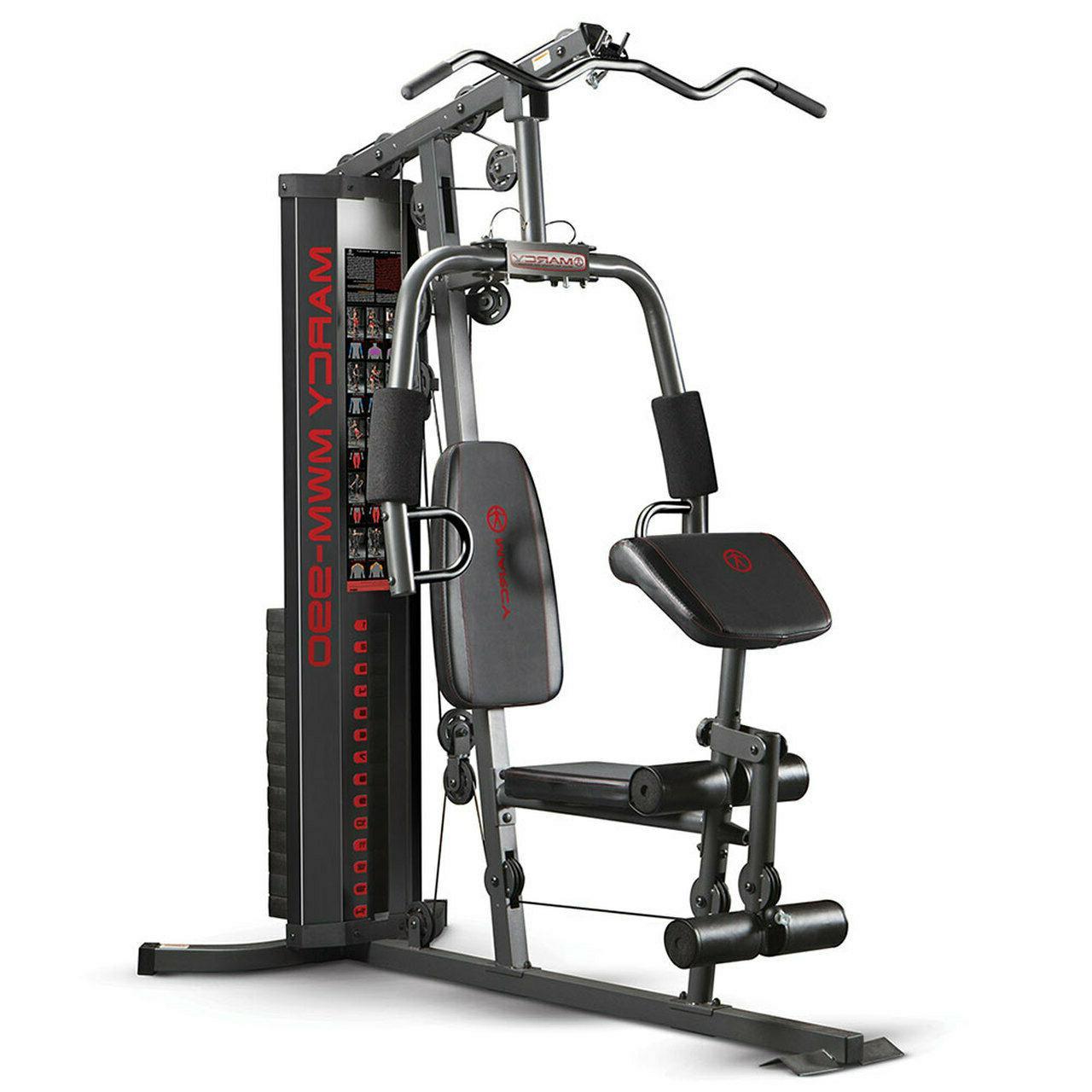 Marcy Home | MWM-990 Adjustable Weight Machine