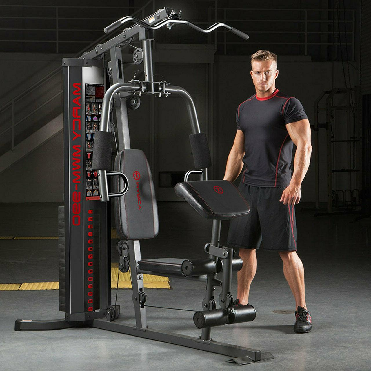 Marcy LB Home | MWM-990 Adjustable Weight Stack