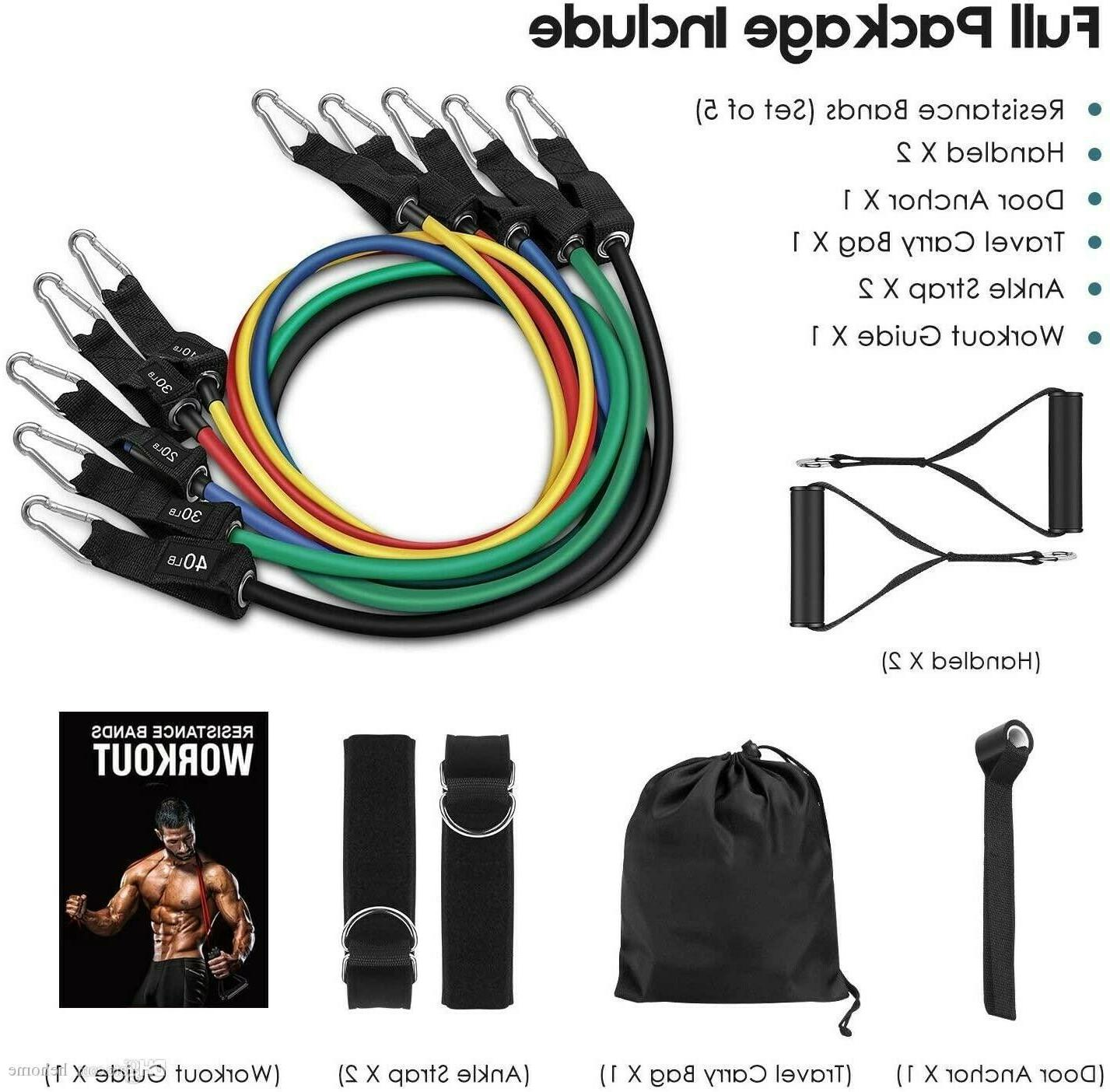 Set Handles, Straps Gym Equipment