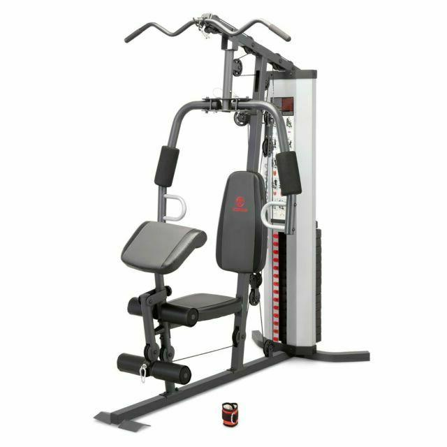 150lb stack home gym mwm 988