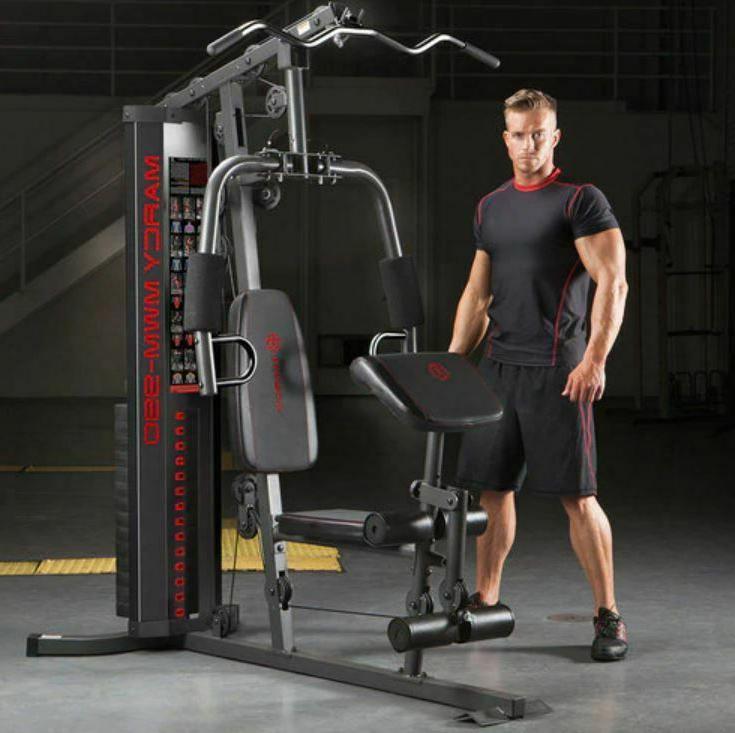 Marcy Gym Total Strength Home Gym Machine