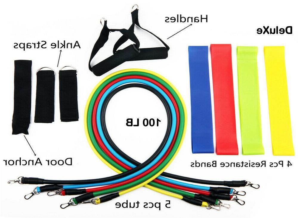 16 Set 100 LB Pull Gym Home Yoga