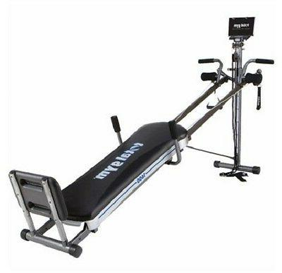 Total Gym 1600 Machine Strengthens 60 Different Muscle