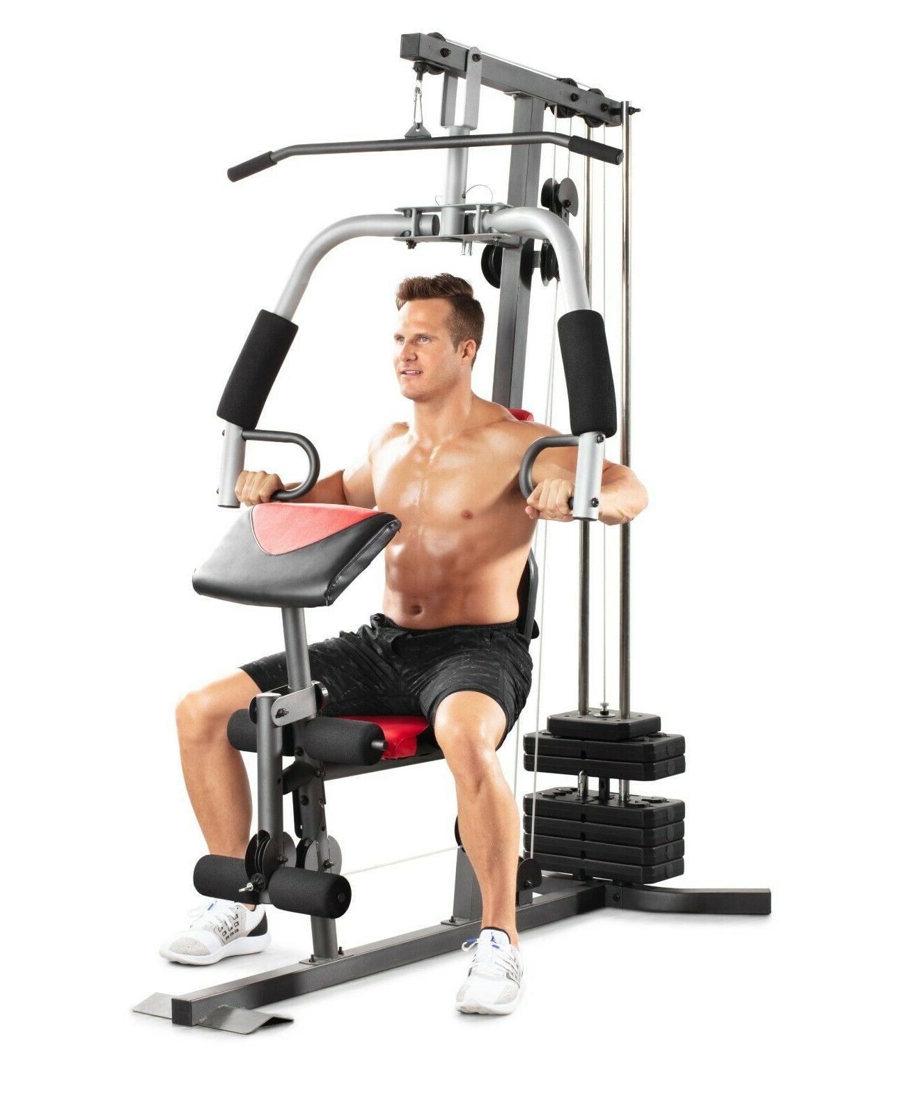 Weider 2980 Gym Chest Pad Workout
