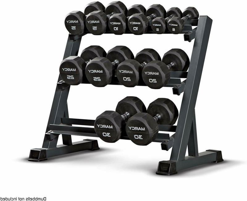 Marcy Steel Workout Dumbbell Stand