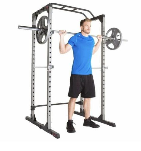 FITNESS REALITY 810XLT SUPER MAX POWER RACK CAGE