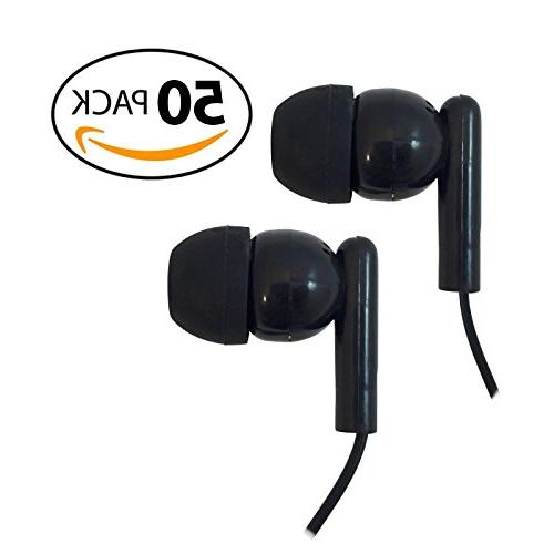 Ear Buds with Silicone Ear Tips