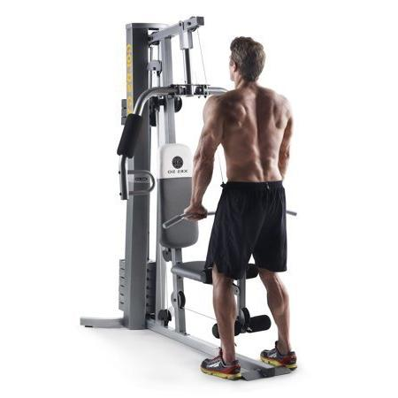 Gold s gym xrs home gym with high