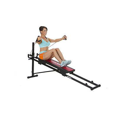 Total Gym Fitness Folding Workout Exercise Machine