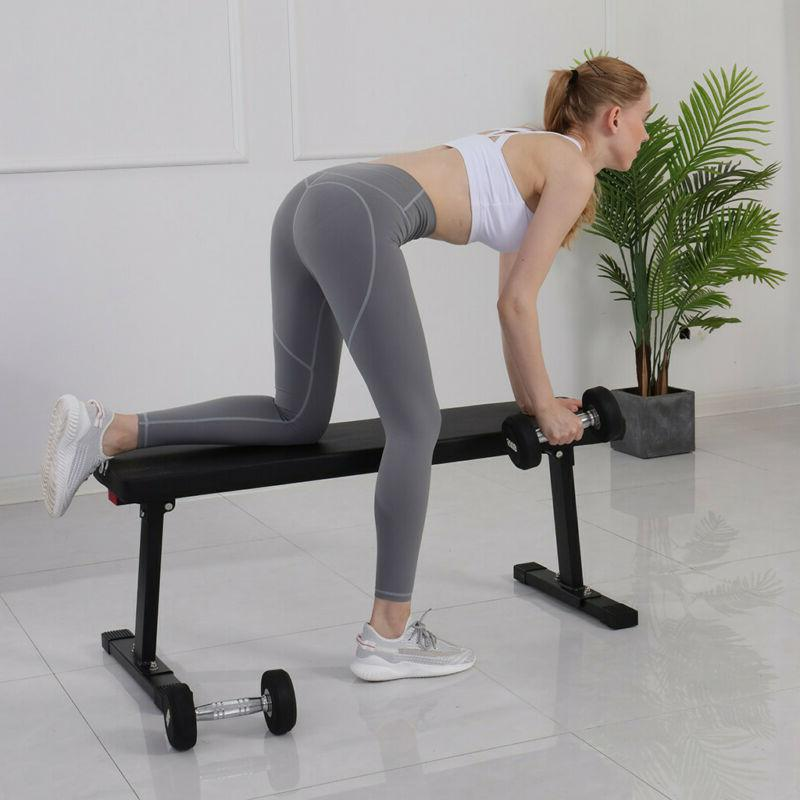 Foldable Bench Incline Strength Training Workout Home