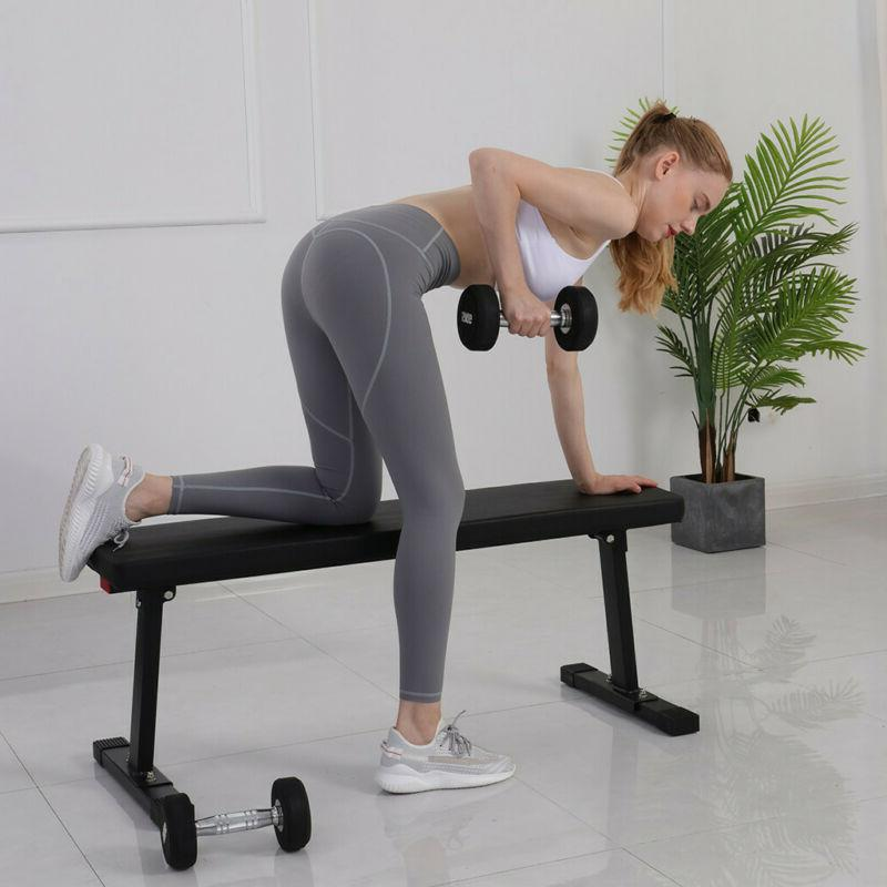 Foldable Weight Bench Lifting Incline Decline Strength Workout