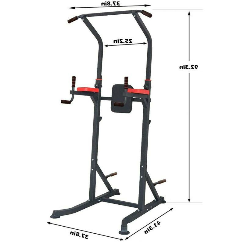 Adjustable Pull Up Station Gym Workout Strength