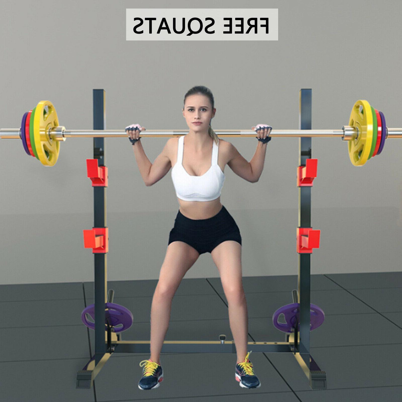 Squat Rack Multifunction Bench Press