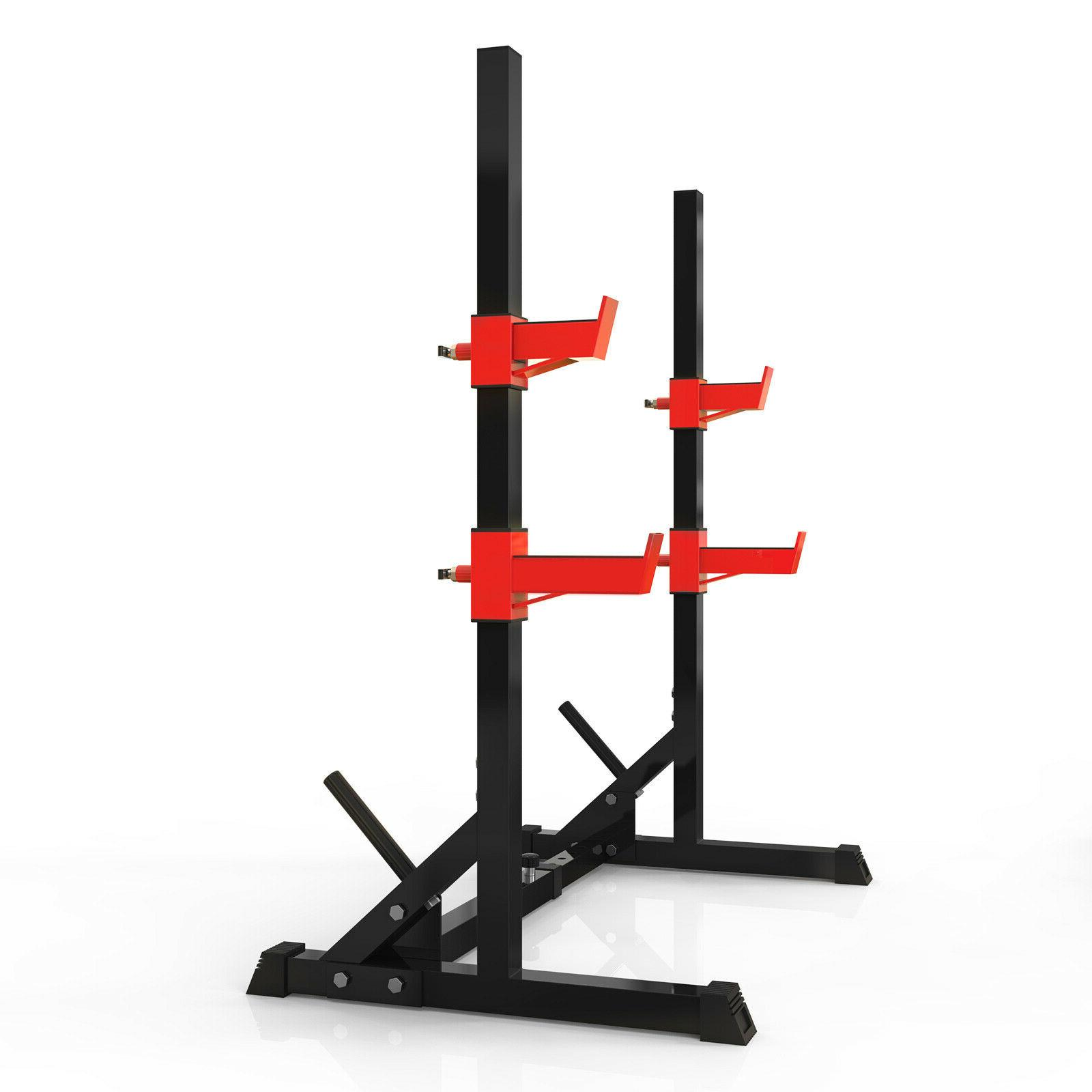 Squat Multifunction Barbell Bench Press Stand Plate Rack