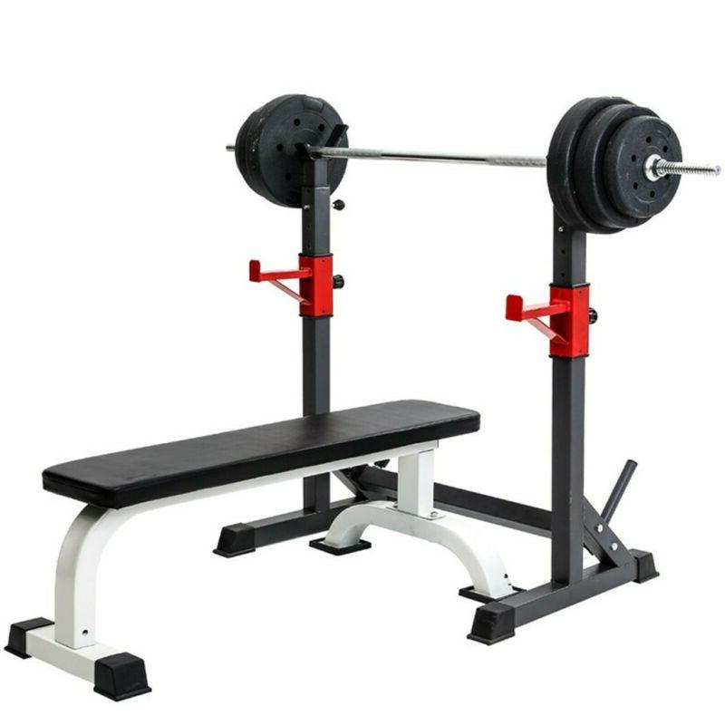 Adjustable Press Barbell Stand