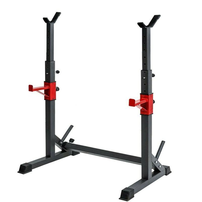 Adjustable Rack Press Barbell