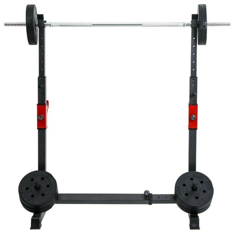 Adjustable Squat Rack Press Power Rack Barbell Stand