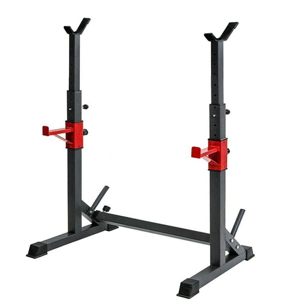 Adjustable Squat Rack Bench Press Power Weight Rack Barbell