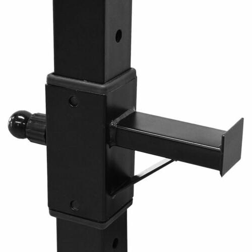 Adjustable Weight Lifting Press Stand