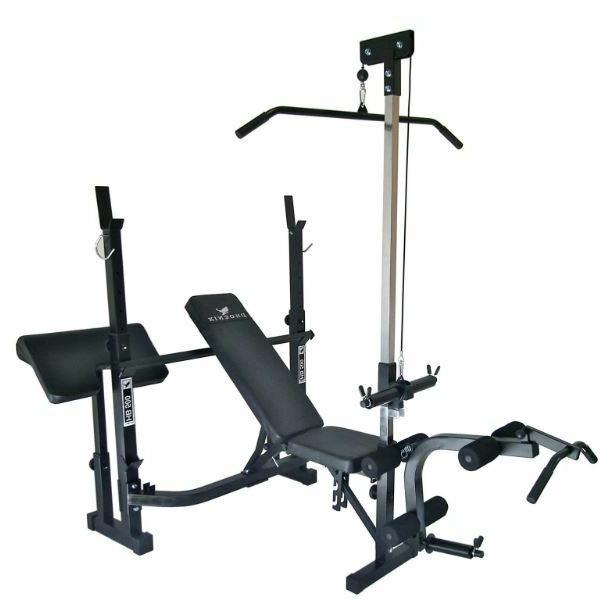 At Equipment System Workout Weights Machine Bench Lift