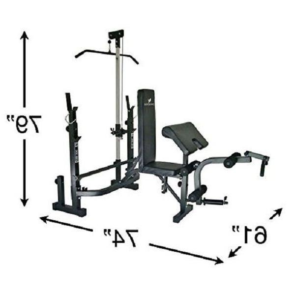 At Home Equipment System Bench Exercise Fitness Lift
