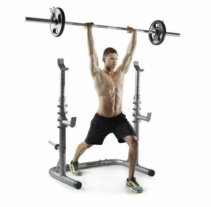 Body Champ PBC530 Power Rack Pull Up Dip System W weight Oly