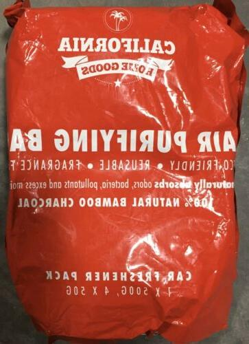 Bamboo Charcoal Bag & 4X 50g Car, Home,