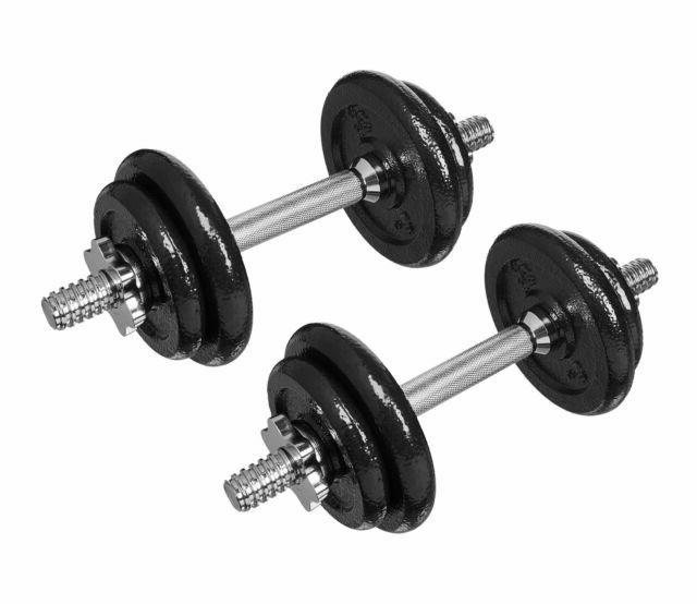 Basics 40-Pound Adjustable Weight Set With Case
