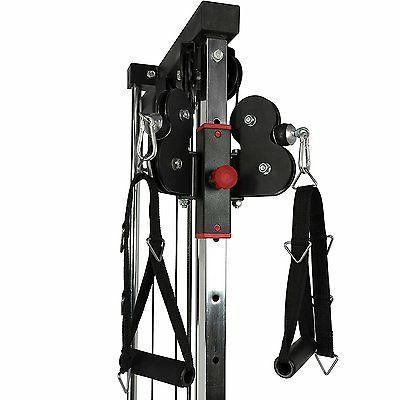 Valor Fitness BD-62 Compact Wall Mount Cable of Heavy New