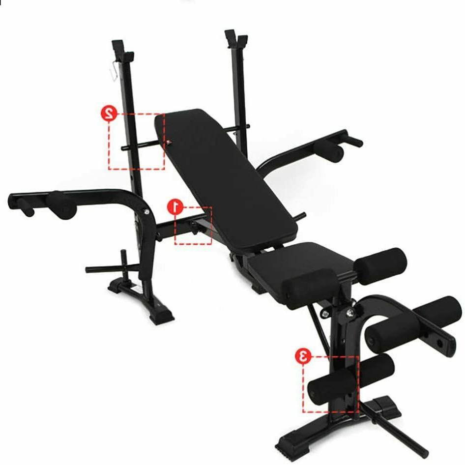 Body Gym Fitness Incline Weight Bench