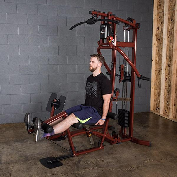 Multi Station Leg Press and lb weight