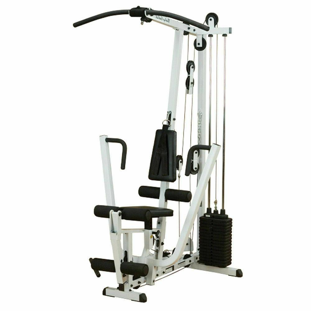 body solid exm1500s single weight stack home
