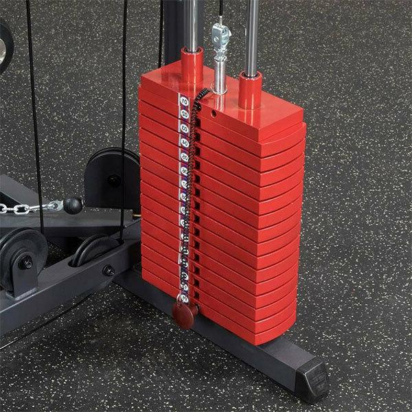 Body-Solid G1S Red Home - Weight Fitness Equipment