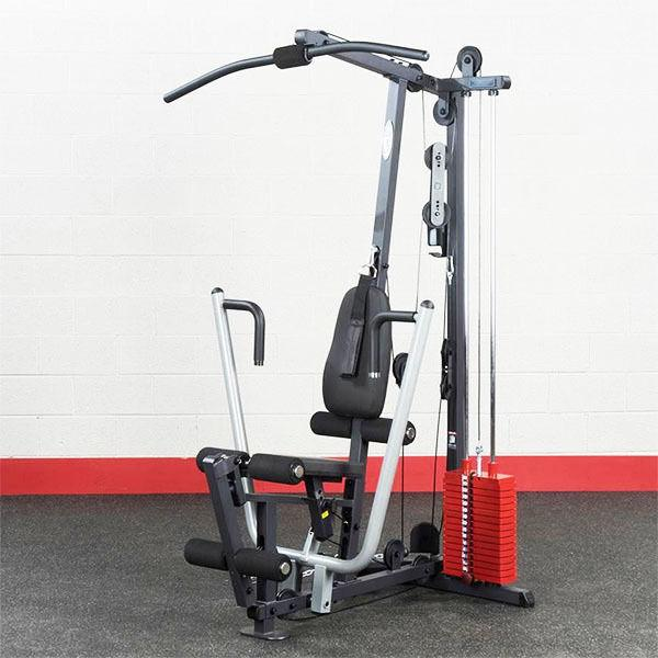 body solid g1s red stack home gym