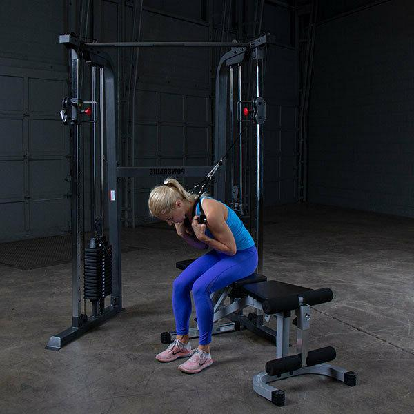 Body-Solid Powerline Functional Trainer - PFT100 Home Gym lb Stack