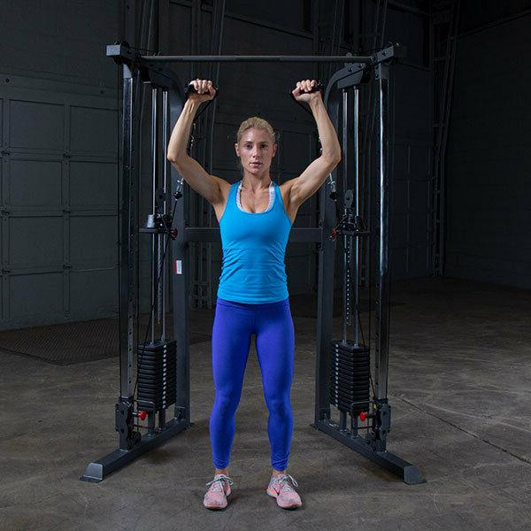 Body-Solid PFT100 Home Gym 160 lb stacks