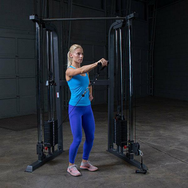 Powerline Body-Solid Home Gym lb stacks