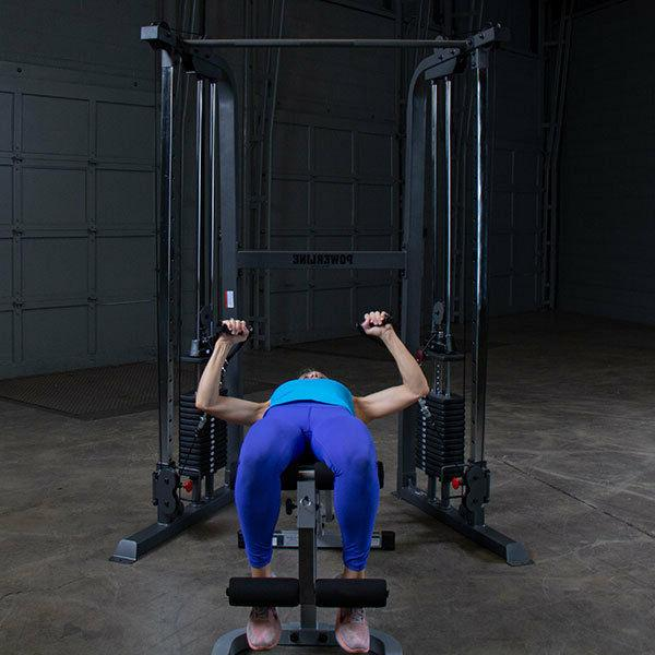 Body-Solid Powerline - Adj Home Gym Stack
