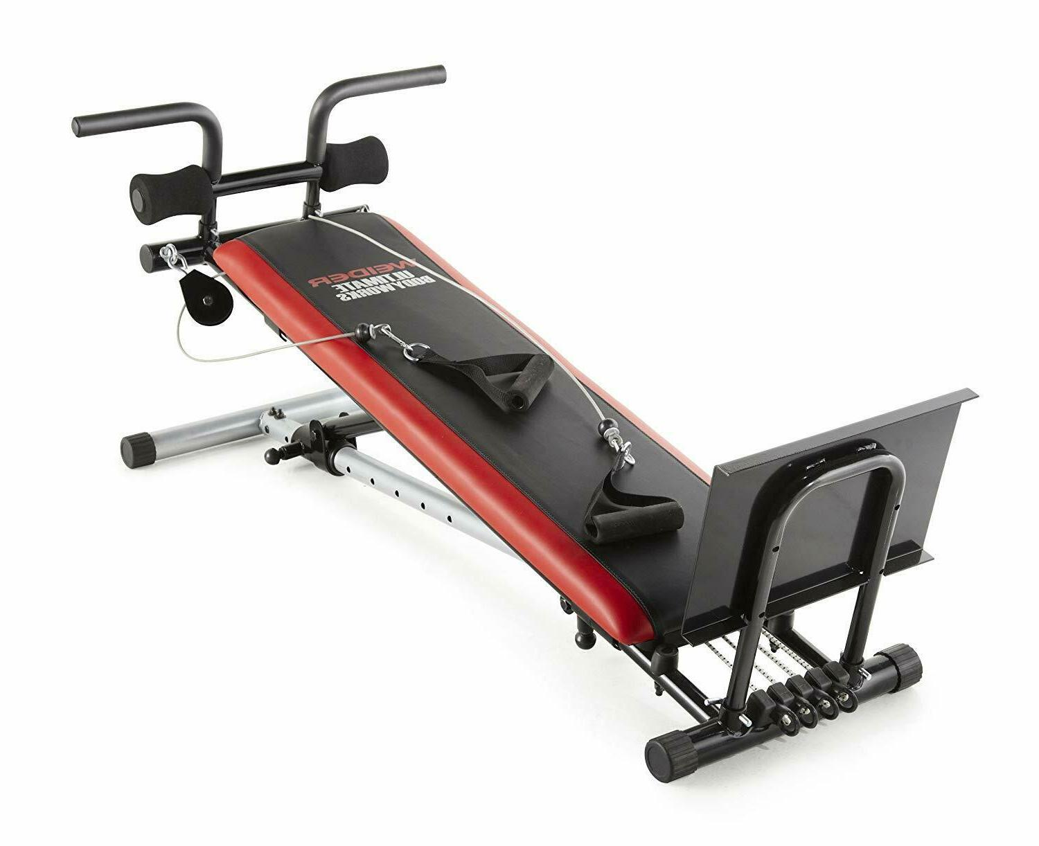 Total Exercise Equipment Body Home Fitness Machines