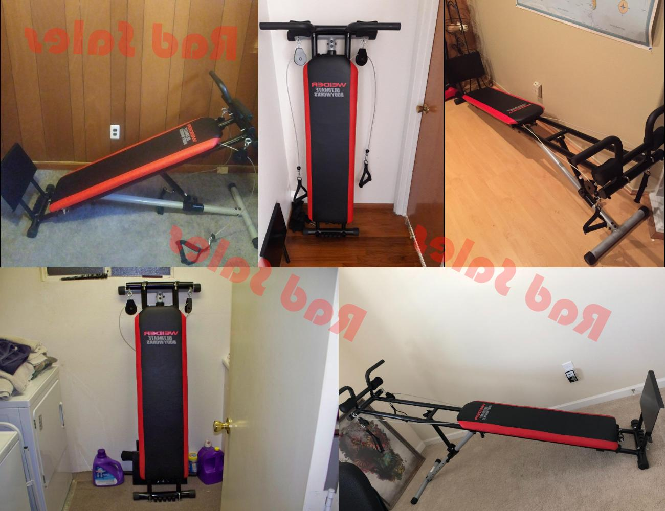 Total Gym Exercise Equipment Body Weight Strength Home Fitness