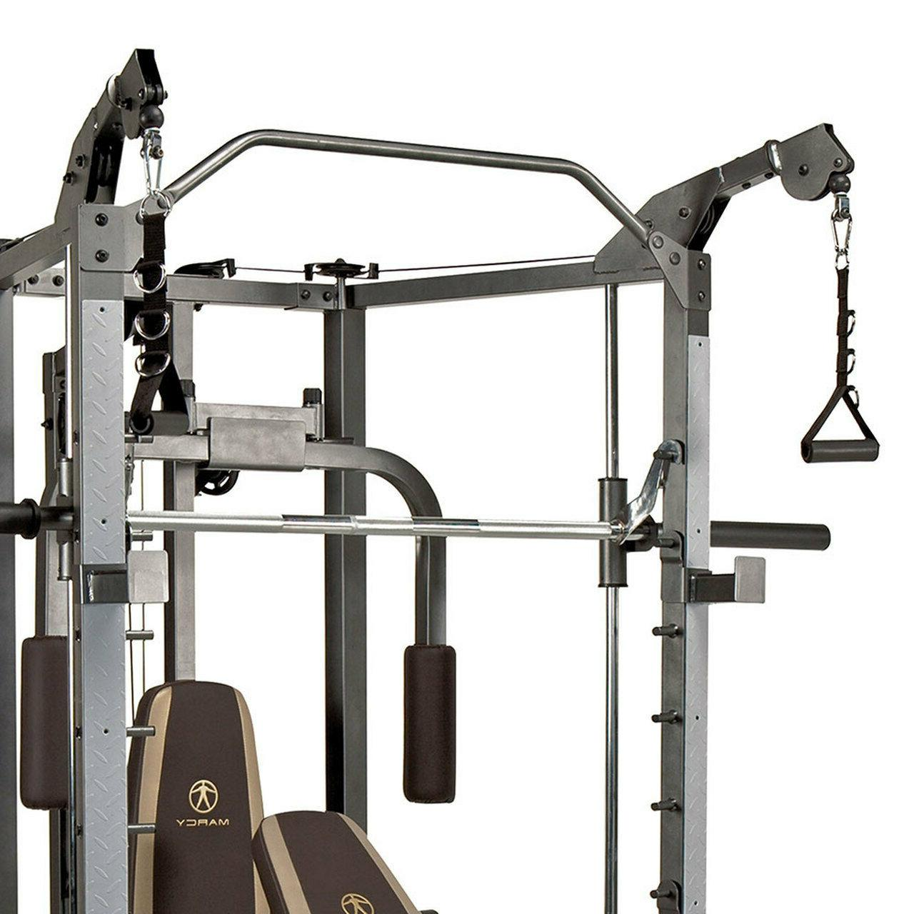 Marcy Heavy-Duty Total Strength Home and Workout Machine