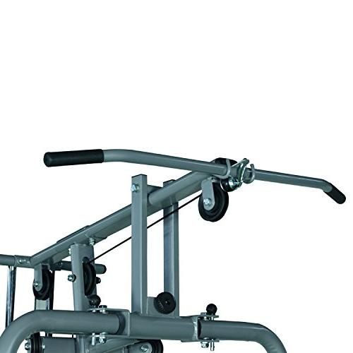 Soozier Complete Home Fitness Station Gym Machine 100 lb