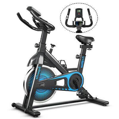 Indoor Cycling Stationary Bike Silent Belt Drive Adjustable