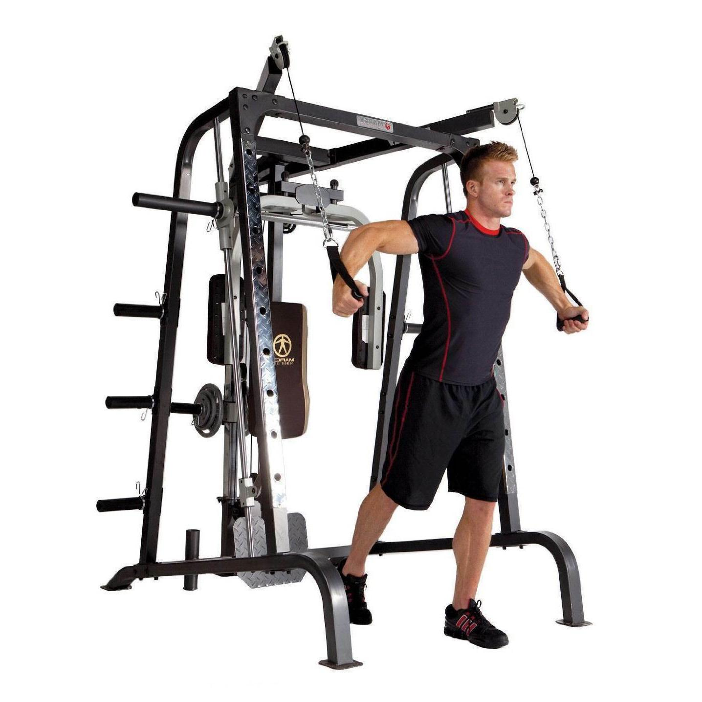Marcy Deluxe Diamond Smith Home Workout Machine Body System