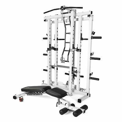 deluxe folding total home gym