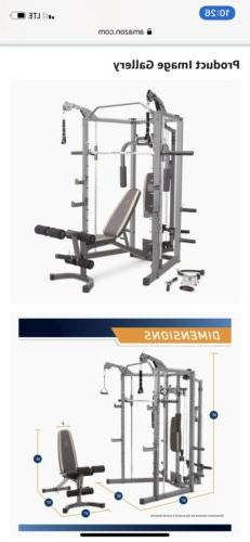 Marcy Deluxe Home Gym Sm 4008 Local Pickup Only Zip 41086 Ky